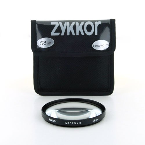 Zykkor 58 mm +10 Close Up Macro Lens in Pouch