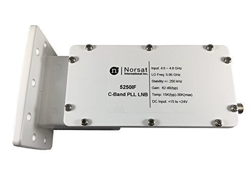 Used, Norsat LNB 5250i C-Band PLL for sale  Delivered anywhere in USA