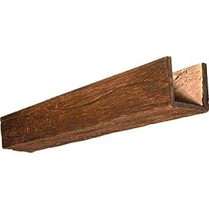 nextstone faux wood beam 6 x 6 x 96 river wood peruvian walnut home. Black Bedroom Furniture Sets. Home Design Ideas