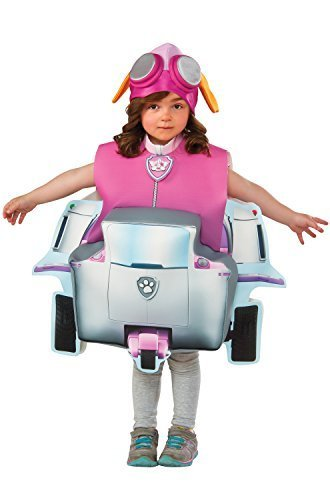 Girls Deluxe Skye Costumes (Rubie's Costume Paw Patrol Skye Child Costume, Small)