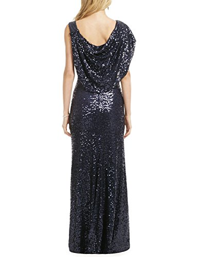 Sequines Party Evening Gown Dresses Women's Long 2018 Aurora CHR12 Prom Silver EgOwqWC