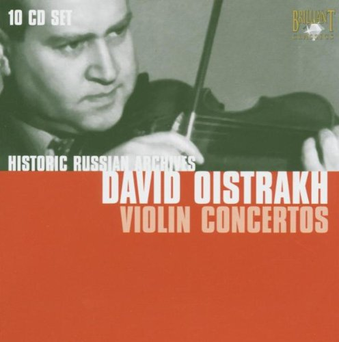David Oistrakh - Historic Russian Archives: Violin Concertos