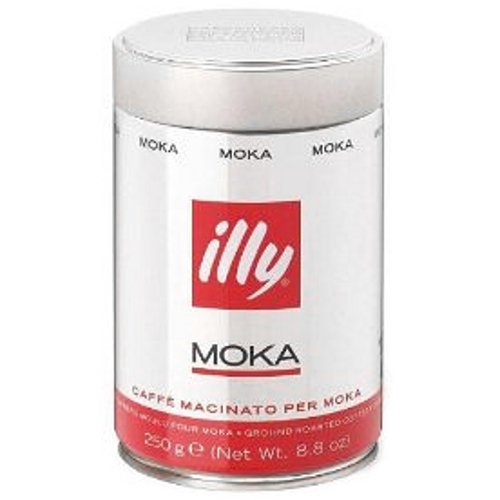 illy Set Moka Coffee for Stovetop Coffeemakers