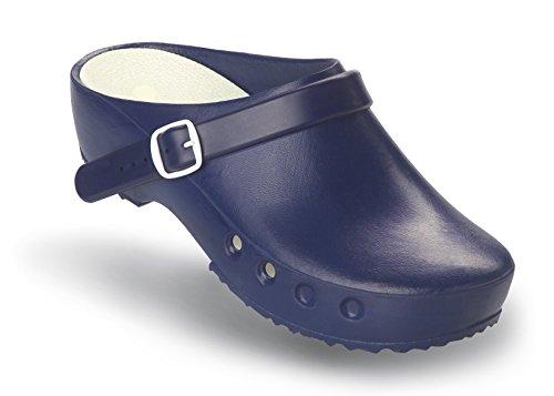 Mit Au chaussures Schurr 41 Et Du Op Sans Bleu Niveau Talon Fersenriemen Classic Blau Chiroclogs Avec 0OwAOq5