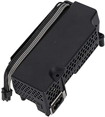 Lazmin Fuente de alimentación para Xbox One S, Adaptador de CA Fuente de alimentación Reemplazo del Cable del Cargador para Xbox One 100-240V, Negro: Amazon.es: Electrónica