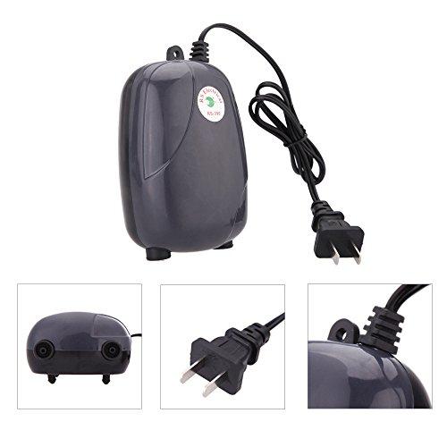 Aquarium Air Pumps 5W 220V Ultra Silent High Output Energy Efficient Fish Tank Oxygen Airpump Piscine Aquariums Accessories