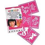 Bulk Buy: Snazaroo (2-Pack) Face Painting Stencils 6/Pkg Girls' Fantasy 1198014