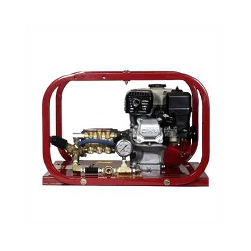 Hydrostatic Test Water Pump - Rice Hydro TRH2 Hydrostatic Test Pump, Plunger Pump, 3 gpm Up to 2000 psi, Pressure Testing, 4 Cycle Honda Engine with Oil Alert, 6.5 hp