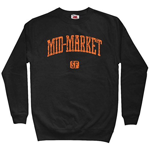 Smash Transit Men's Mid-Market San Francisco Sweatshirt - Black, ()