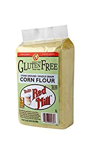 Bob's Red Mill Gluten Free Corn Flour, 24-ounce (Pack of 4)