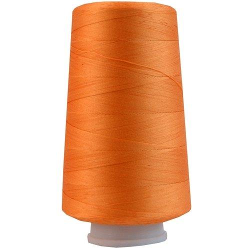 Heavy Duty Cotton Thread 2500 M - 40/3 - Color 107 - Apricot - 17 Colors Available Threadart