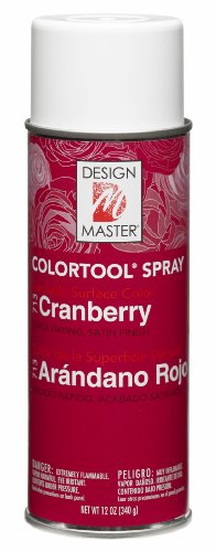 Design Master 713 Cranberry Colortool Spray (Diet Sierra Mist Cranberry)
