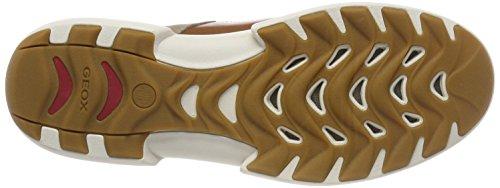 C5004 Traccia Grey U B Men's Sand Top Beige Sneakers Low Geox vFZpwnqE