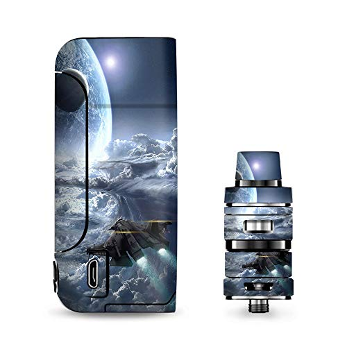 IT'S A SKIN Decal Vinyl Wrap for Vaporesso Armour Pro Cascade Tank Vape Sticker Sleeve Cover/Galactic Spaceship Star - Galactic Starship