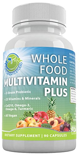 Whole Food Vitamin Plus Vegan Multivitamin