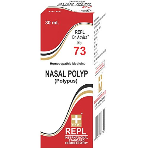 Renovision Exports Pvt. Ltd. Dr Advice No. 73 Nasal Polyp 30 ML Homoeopathic REPL
