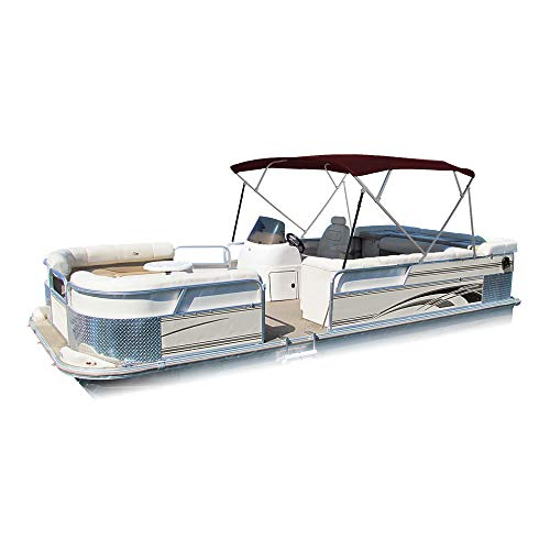 Bimini 4 Bow Pontoon Canvas Top Includes 1