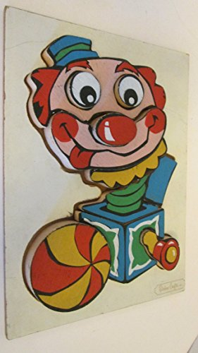 Used, Rainbow Crafts Inc. Clown Jack in the Box 11 Piece for sale  Delivered anywhere in USA