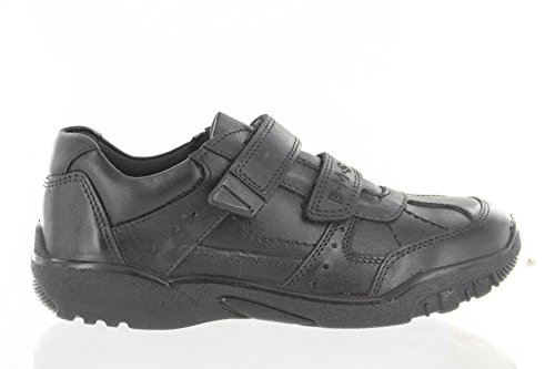 Boys Buckle My Shoe Meadowcroft Black Leather Shoe Various UK Sizes