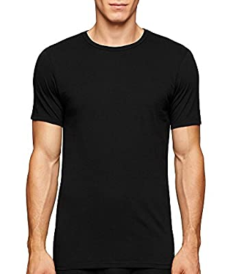 Calvin Klein Underwear Men's Short Sleeve Cotton Classic Slim Fit Crew
