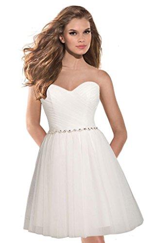 Aurora Bridal 2016 Tulle Homecoming Dress Short Prom Ball...
