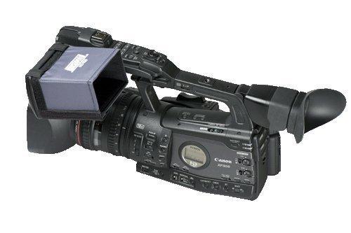 Hoodman 4-inch Widescreen LCD Hood for Canon XF Series - Hoodman -