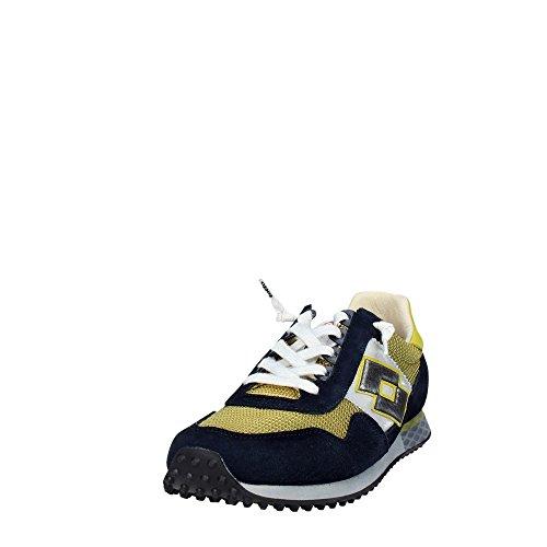 Sneakers Uomo Lotto Leggenda Autograph s8814 bianco Blu Amarillo / Negro