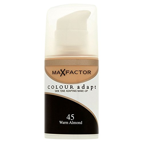 3 x Max Factor Colour Adapt Skin Tone Adapting Foundation 34ml - 45 Warm -