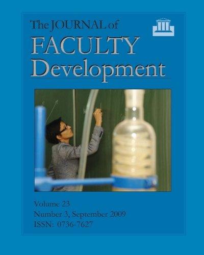 journal of faculty development - 9