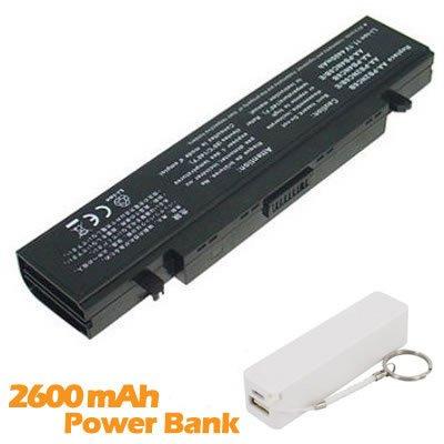 Battpit Bateria de repuesto para portátiles Samsung R40-K009 (4400 mah) con 2600mAh Banco de energía/batería externa (blanco) para Smartphone: Amazon.es: ...
