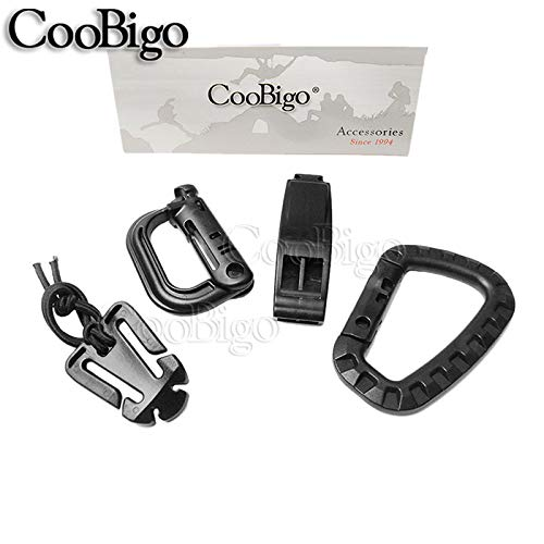 Buckle Web Dominator Rope Link Survival Whistle Molle Tactical Backpack Kits#Cs010 1Set 1&Quot;