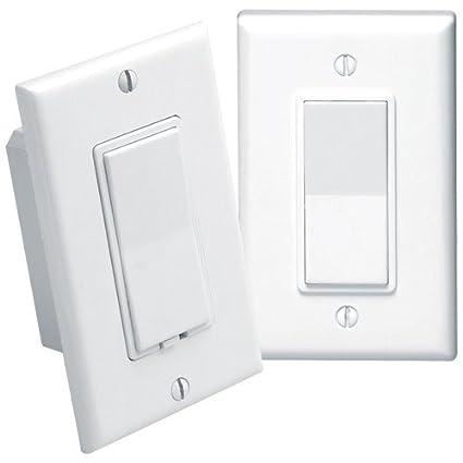 Leviton Anywhere Decora RF Remote 3way switch kit Wall Light