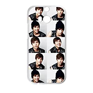 Handsome Fashion Singer Star Austin Mahone Printing for HTC One M8 Case