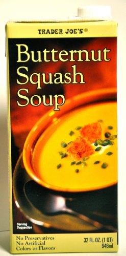 - Trader Joes Butternut Squash Soup