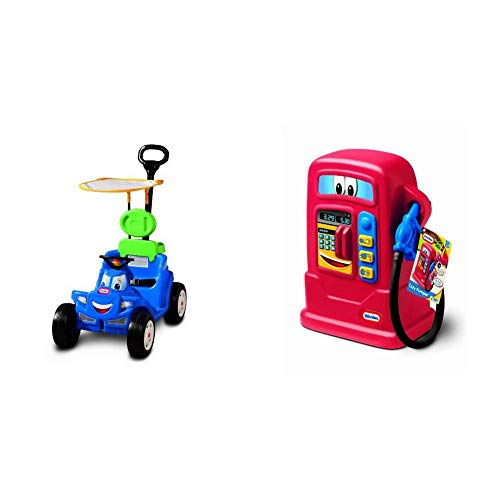 Little Tikes Spray & Rescue and Cozy Roadster - Bundle