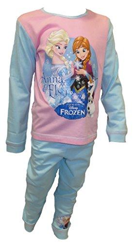 Disney Frozen Little Girl's Anna & Elsa Pyjamas Age 2-3 Years