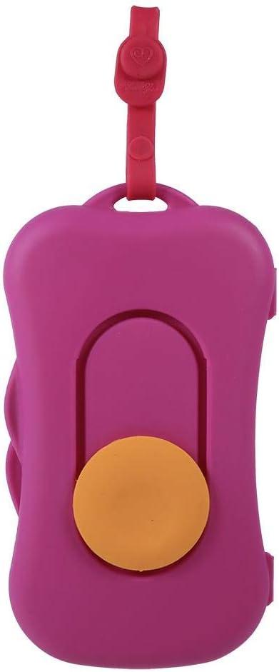 Estuche para bebé, estuche portátil para bebé toallita húmeda dispensador de toallitas húmedas dispensador accesorios cochecito niño uso exteriores(# 4): Amazon.es: Hogar