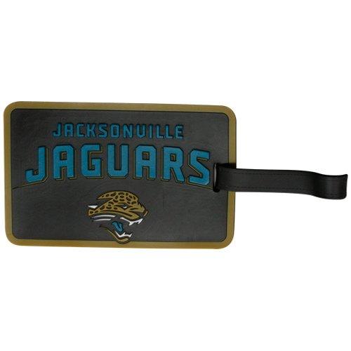 - aminco NFL Jacksonville Jaguars Soft Bag Tag, 7.5, Black