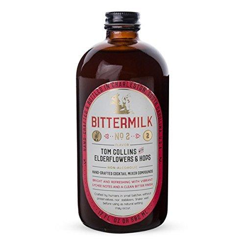 Bittermilk No.2 Tom Collins with Elderflowers & Hops Cocktail Mixer - 17 oz by Bittermilk