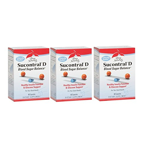 Terry Naturally/Europharma Sucontral D -60 Capsules -3 Pack