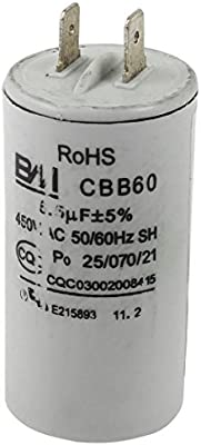 AC 450V 6.5UF película del polipropileno electrolítico condensador ...