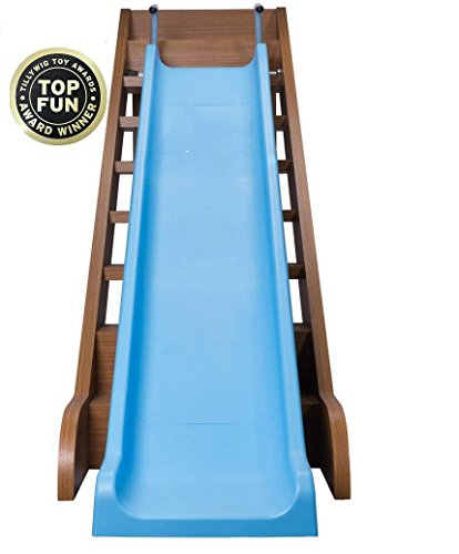 The Magic Toy Shop Kids Indoor Outdoor Stair Slide All Weather Fun Toddler Playground Equipment