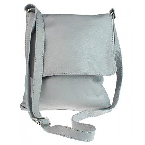 London Craze - Light Gray Shoulder Bag Woman