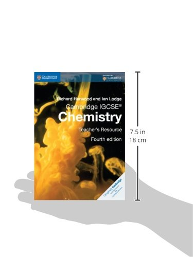 Cambridge IGCSE® Chemistry Teacher's Resource CD-ROM (Cambridge International IGCSE)