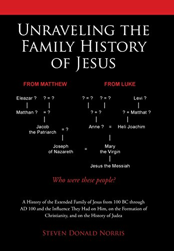 Unraveling the Family History of Jesus: A History of the Extended Family of Jesus from 100 BC through AD 100 and the Influence They Had on Him, on the ... - Family Tree Jesus
