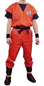 Dragon Ball Kai Goku's Kamesenryu Training Uniform LARGE SIZE [JAPAN]
