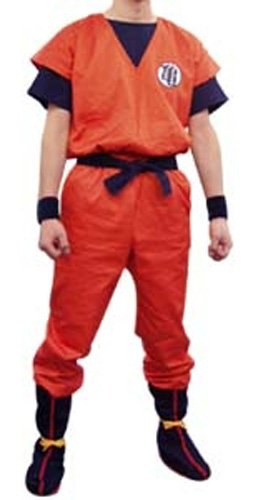 Dragon Ball Kai Goku's Kamesenryu Training Uniform LARGE
