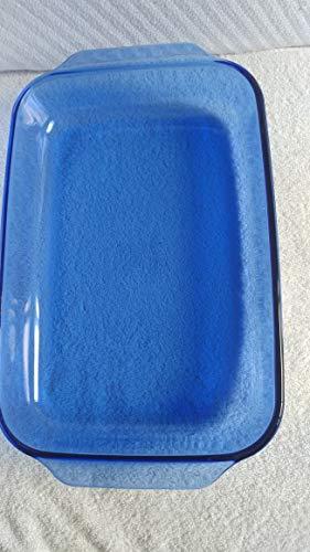 Pyrex, Dish Glass Oblong Blue Bakeware Cobalt Rectangular Baking Dish