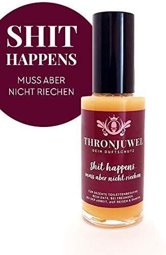 Thronjuwel Spray para el WC ambientador para inodoros contra ...