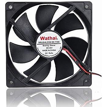 Wathai 120x120x25mm 120mm 24v DC Brushless Cooling Case Fan